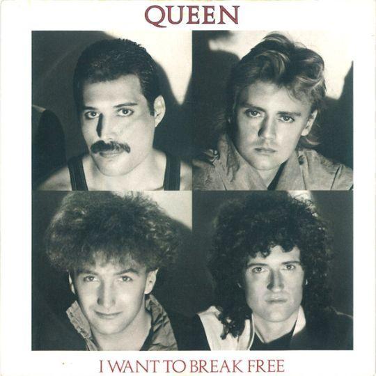 Coverafbeelding Queen - I Want To Break Free