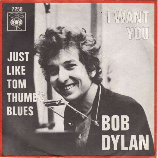 Coverafbeelding I Want You - Bob Dylan