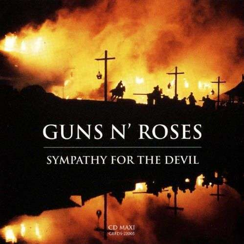 Coverafbeelding Sympathy For The Devil - Guns N' Roses