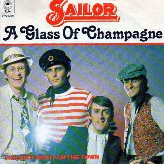 Coverafbeelding Sailor - A Glass Of Champagne