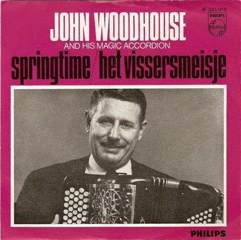 Coverafbeelding Het Vissersmeisje - John Woodhouse And His Magic Accordion