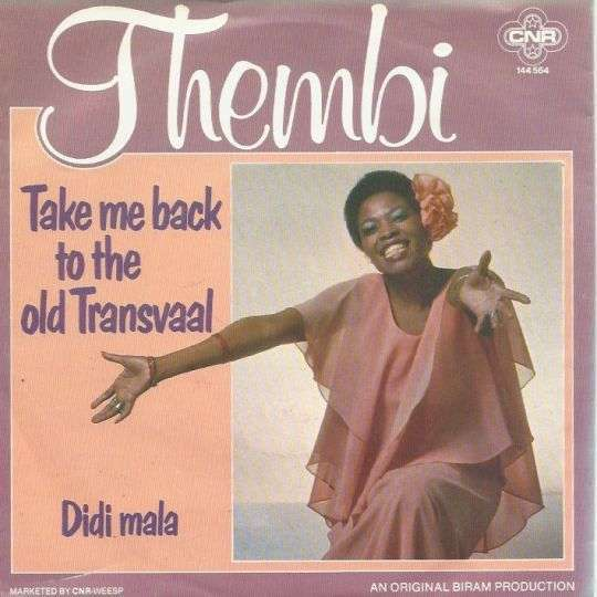 Coverafbeelding Thembi - Take Me Back To The Old Transvaal