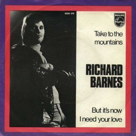 Coverafbeelding Richard Barnes - Take To The Mountains