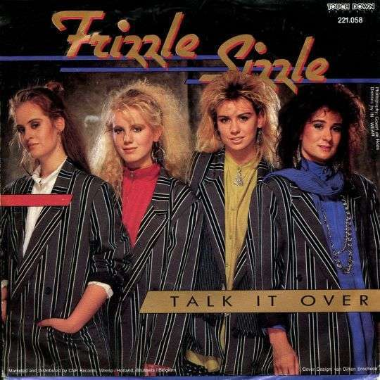 Coverafbeelding Frizzle Sizzle - Talk It Over