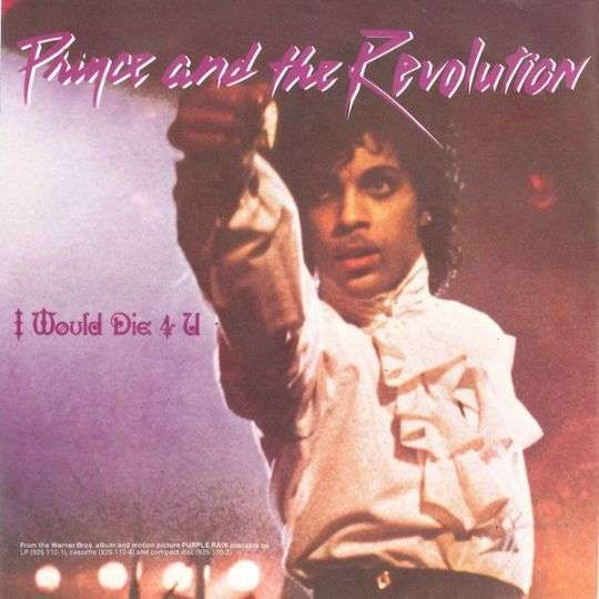 Coverafbeelding I Would Die 4 U - Prince And The Revolution