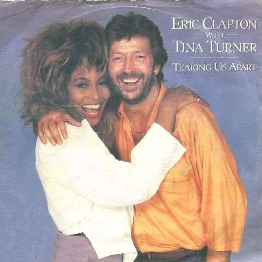 Coverafbeelding Eric Clapton with Tina Turner - Tearing Us Apart