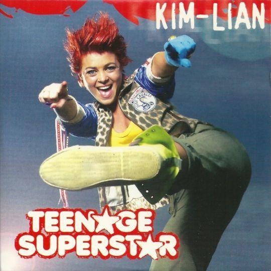 Coverafbeelding Teenage Superstar - Kim-lian