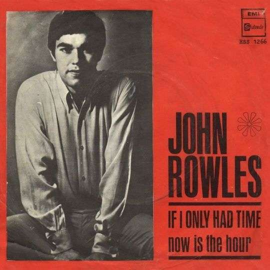 Coverafbeelding If I Only Had Time - John Rowles