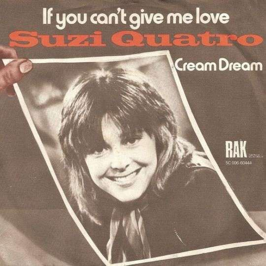 Coverafbeelding If You Can't Give Me Love - Suzi Quatro