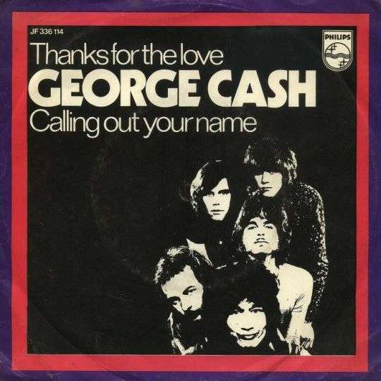Coverafbeelding Thanks For The Love - George Cash