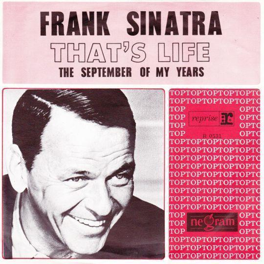 Coverafbeelding That's Life - Frank Sinatra