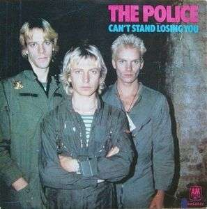 Coverafbeelding Can't Stand Losing You - The Police