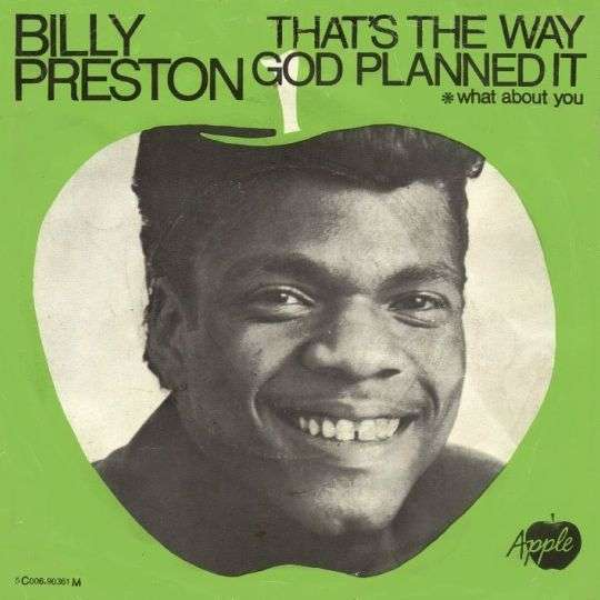 Coverafbeelding Billy Preston - That's The Way God Planned It