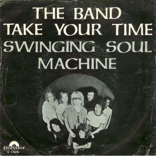 Coverafbeelding The Band - Swinging Soul Machine