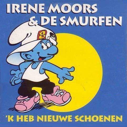 Coverafbeelding 'k Heb Nieuwe Schoenen - Irene Moors & De Smurfen