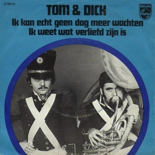Coverafbeelding Ik Kan Echt Geen Dag Meer Wachten - Tom & Dick