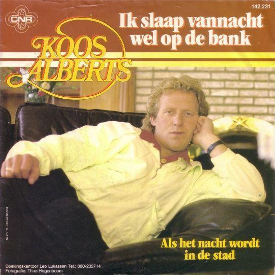 Coverafbeelding Ik Slaap Vannacht Wel Op De Bank - Koos Alberts