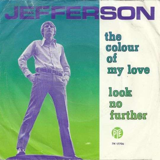 Coverafbeelding Jefferson - The Colour Of My Love
