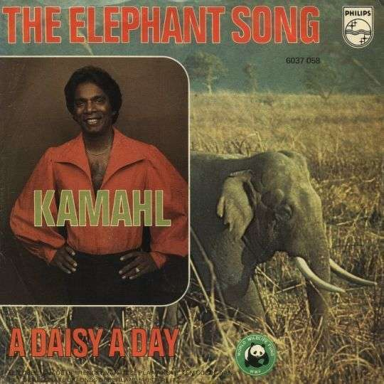 Coverafbeelding Kamahl - The Elephant Song
