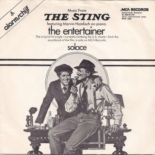 Coverafbeelding Marvin Hamlisch on piano - The Entertainer