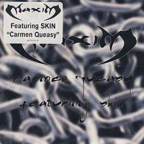 Coverafbeelding Maxim featuring Skin - Carmen Queasy