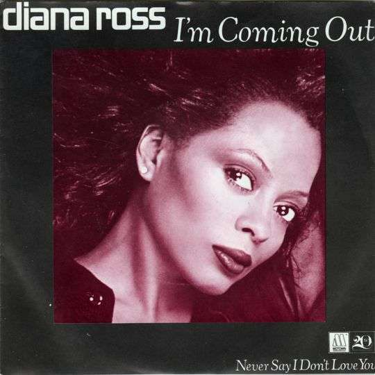 Coverafbeelding Diana Ross - I'm Coming Out