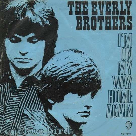 Coverafbeelding I'm On My Way Home Again - The Everly Brothers