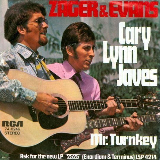 Coverafbeelding Cary Lynn Javes - Zager & Evans