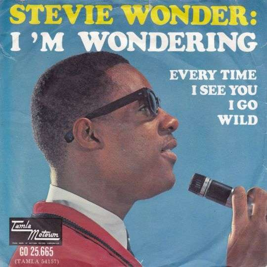 Coverafbeelding Stevie Wonder - I 'm Wondering