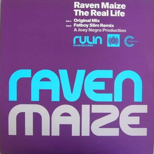 Coverafbeelding The Real Life - Raven Maize