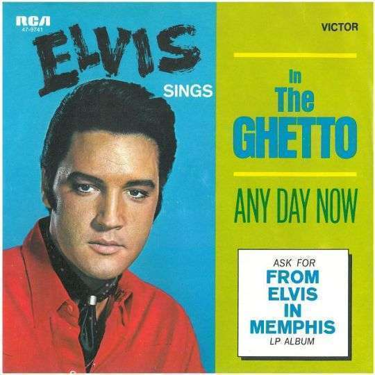 Coverafbeelding In The Ghetto - Elvis