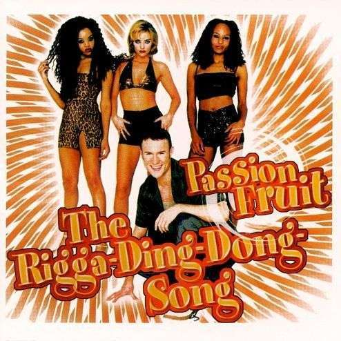 Coverafbeelding Passion Fruit - The Rigga-Ding-Dong-Song