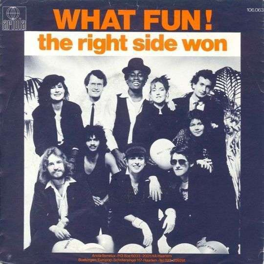 Coverafbeelding What Fun! - The Right Side Won