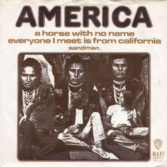 Coverafbeelding America - A Horse With No Name [Maxi Single]