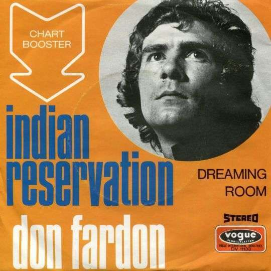 Coverafbeelding Indian Reservation - Don Fardon