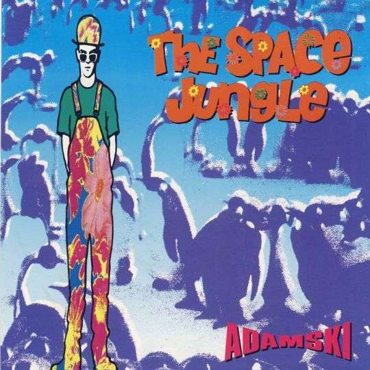 Coverafbeelding The Space Jungle - Adamski