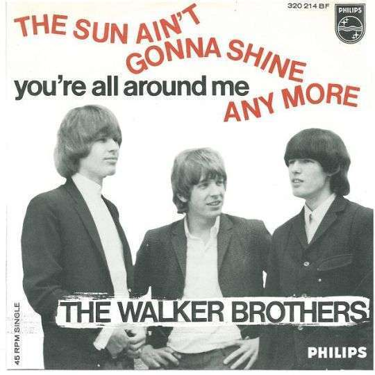 Coverafbeelding The Sun Ain't Gonna Shine Any More - The Walker Brothers