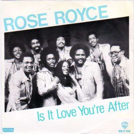 Coverafbeelding Is It Love You're After - Rose Royce