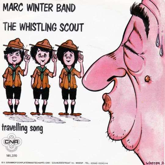 Coverafbeelding The Whistling Scout - Marc Winter Band