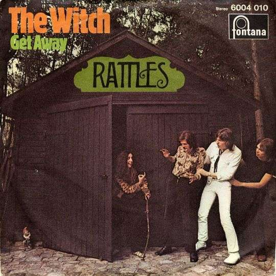 Coverafbeelding Rattles - The Witch