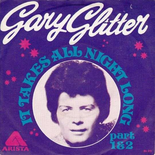 Coverafbeelding Gary Glitter - It Takes All Night Long