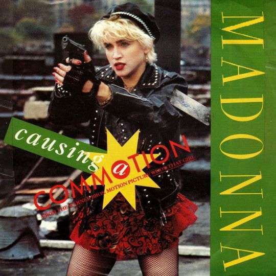 Coverafbeelding Madonna - Causing A Commotion