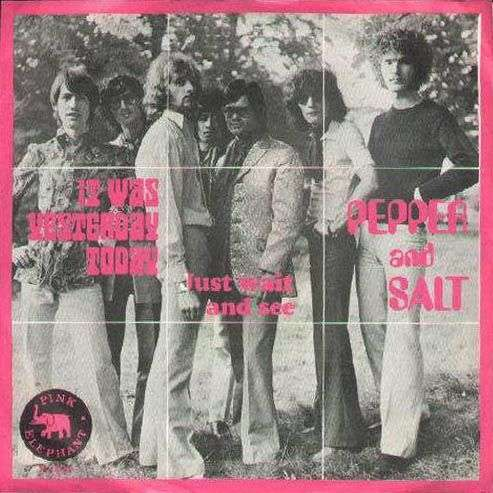 Coverafbeelding Pepper and Salt - It Was Yesterday Today