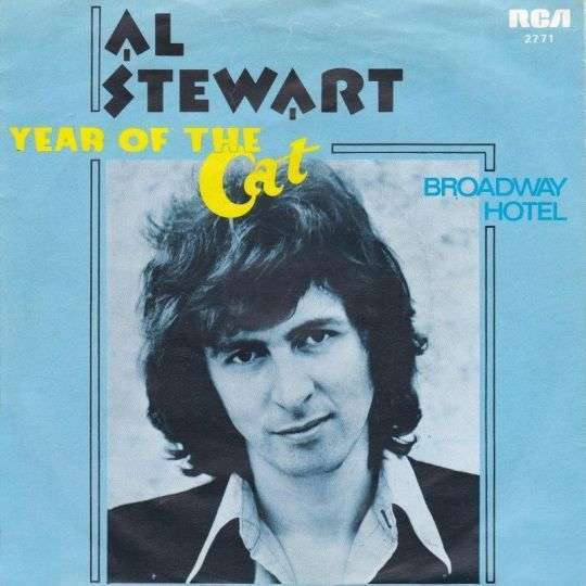 Coverafbeelding Year Of The Cat - Al Stewart