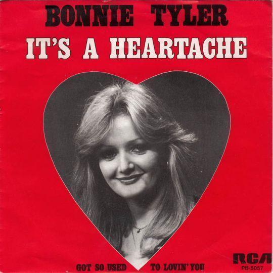 Coverafbeelding It's A Heartache - Bonnie Tyler