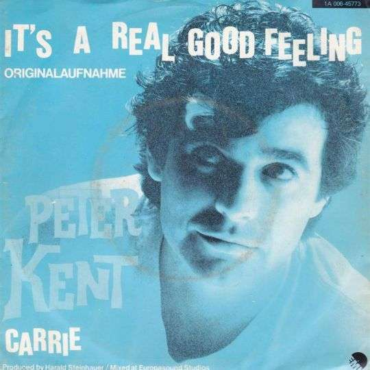 Coverafbeelding Peter Kent - It's A Real Good Feeling