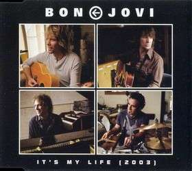 Coverafbeelding It's My Life (2003) - Bon Jovi