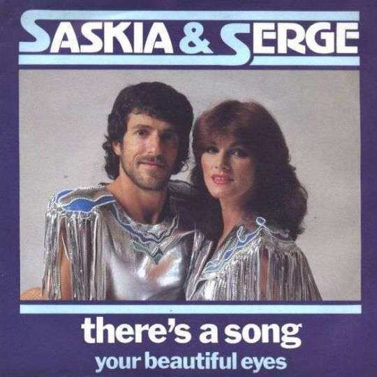 Coverafbeelding There's A Song - Saskia & Serge