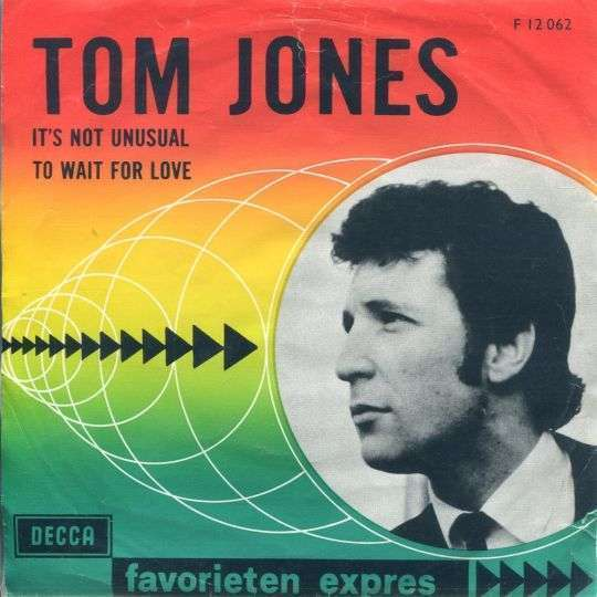 Coverafbeelding It's Not Unusual - Tom Jones
