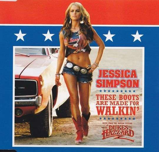 Coverafbeelding These Boots Are Made For Walkin' - Jessica Simpson